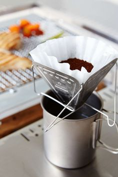 Collapsable Pour Over Coffee Maker by Snow Peak