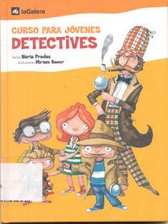 Curso de detectives de Nuria Pradas, a partir de 8 años. Libro juego.