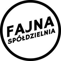 FAJNA Spółdzielnia Socjalna - logo b&w - logotyp b&w