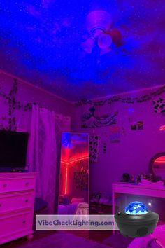 Neon Bedroom, Cute Bedroom Decor, Bedroom Decor For Teen Girls, Room Design Bedroom, Teen Room Decor, Room Ideas Bedroom, Bedroom Inspo, Dream Teen Bedrooms, Chill Room