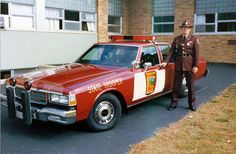 Minnesota State Patrol way too late 1988, but good reference.