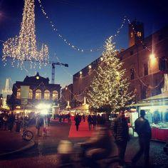 Natale in Piazza Cavour, Rimini - Instagram by elmedinashimaj