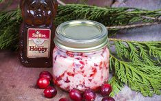 Honey Cranberry Butter .. a festive spread for the holiday season!