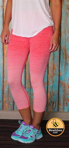 Ombre Workout Leggings- 5 Colors! | Jane