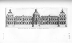 Louvre: East elevation and principal entrance, unused design (Jean Marot) | Flickr - Photo Sharing!