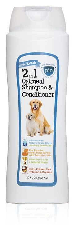 Creative Pet Group 2-in-1 Oatmeal Shampoo and Conditioner for Dogs Helps Prevent Dryness, 20 oz *** Find out more about the great product at the image link.