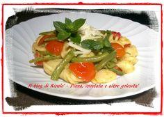 <p>Member of Pecorino Sardo Cheese's Chef Community Ingredienti per 3 persone: – 300 g. di orecchiette – 350 g. di fagiolini freschi – 250 g. di pomodorini tipo ciliegino – 100 g. diPecorino Sardo Dop Maturo – 2 spicchi d'aglio – 1 cucchiaio di zenzero fresco grattugiato – 4 cucchiai …</p>