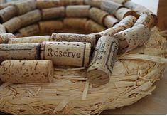 How to make a cork wreath!