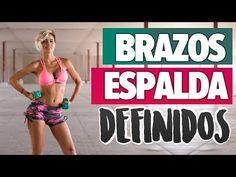 TONIFICAR BRAZOS Y ESPALDA: elimina rollitos | Back and Arms Workout - YouTube