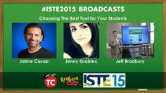 LIVE: Using The Right Tool In Your Digital Classroom | #ISTE2015 Panel D...