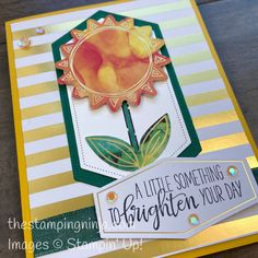 Box Of Sunshine, Stampin Up Paper Pumpkin, Pumpkin Cards, Pumpkin Ideas, Joy To The World, Stamping Up, Stampin Up Cards, Cardmaking, Birthday Cards