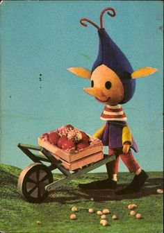 """""""More fun children's animation from Hungary! While digging for info on the 'Bunny with the Checkered Ears', I found this! A puppet show from the late called: 'A Futrinka Utca Lakói', which roughly translates to 'What's New on Futrinka Street'"""" Christmas Illustration, Children's Book Illustration, 1960s Toys, Film Strip, Bedtime Stories, Stop Motion, Puppets, Tweety, More Fun"""