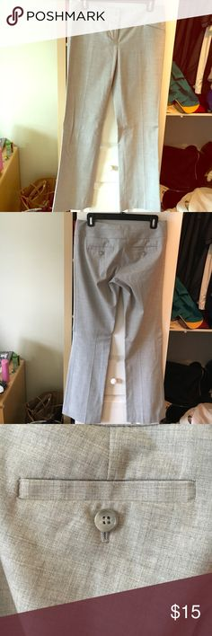 Gray dress pants Gray dress pants with Button front and button closure. Pants Trousers