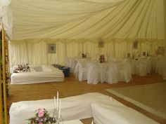 Inside the marquee with hay bale seating Hay Bale Seating, Hay Bales, Wedding 2015, Summer Wedding, Our Wedding, Straw Bales Wedding, Sarah Summer, Marquee Wedding, 10 Anniversary