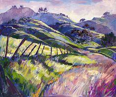 Purple Haze Painting