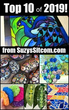 Suzy's Artsy Craftsy Sitcom – Crafts, Tutorials, Patterns & Fun! # Easy Recipes fish Top 10 craft ideas of 2019 from SuzysSitcom! Applique Patterns, Quilt Patterns, Craft Tutorials, Craft Projects, Craft Ideas, Diy Ideas, Spiral Crochet Pattern, Conversation Hearts Candy, Miniatures