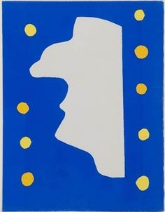 Jazz. Monsieur Loyal, 1947, by Henri Matisse.
