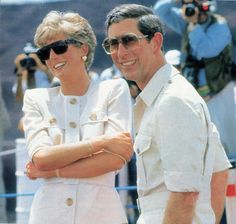 April 23 1991 Charles & Diana visiting the open cast mines of Carajas, Eastern Amazonia, Brazil