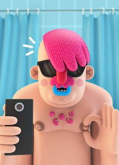 3D Illustrations — 2014 on Behance
