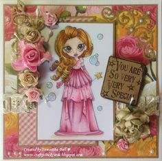 Craftychick Cards: Sparkle and Shine