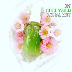 """It's going to be a hot Memorial Day weekend here in the east coast - w/ temperature expected to be in the high 80's; so needless to say proper hydration for your body is extremely crucial.  Drinking a lot of water helps replenish moisture from the inside out; add to that with a #hydrating facial mist refreshes & """"cools down"""" the skin from the outside in - WIN-WIN solution right there! DIY Cucumber Facial Mist   You'll need:  1oz glass spray bottle  juice from 1/4 of a #cucumber  witch hazel…"""