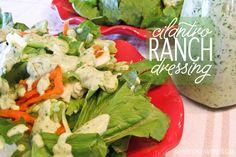 Cilantro Ranch Dressing - ateaspoonofhappiness.com