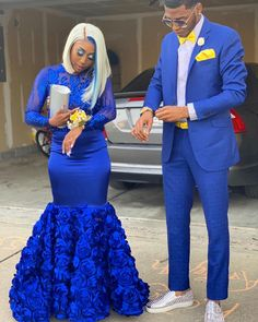Prom Dresses Slay, Black Girl Prom Dresses, African Prom Dresses, Senior Prom Dresses, Prom Outfits, Prom Dresses Long With Sleeves, Beautiful Prom Dresses, African Dress, Couple Outfits