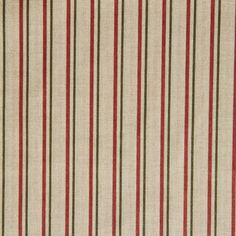 "Bavlněná látka Růžový a zelený proužek na ""režné"" Curtains, Prints, Home Decor, Stripes, Paper, Blinds, Decoration Home, Room Decor, Draping"