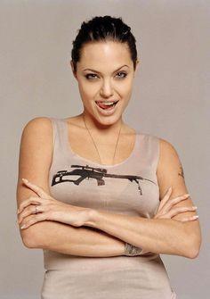 Angelina Jolie by Firooz Zahedi