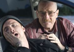 Breaking Bad Season 2 Episode 8 - Better Call Saul - Jesse Pinkman (Aaron Paul) and Walter White (Bryan Cranston)