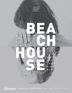 Beach house music posters