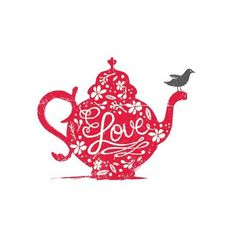 I LOVE THIS DESIGN  ..If I ever have my own business Im  so using a TEAPOT...