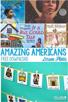 Celebrating Black History Month in February with a FREE download. Find out the read aloud books my classroom used to learn more about the Amazing Americans in history. via @deedee_wills