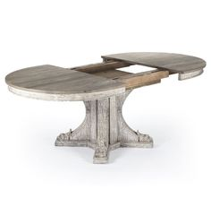 Amazon.com - Agnes French Country Rustic Oval Extendable Dining Table - Tables