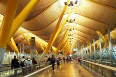 Been Here. Madrid, Barajas- Terminal 4. One of the best terminals in the world.