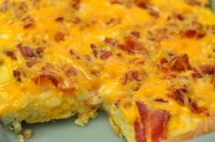 BACON BREAKFAST PIZZA-BACON BREAKFAST PIZZA