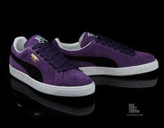 PUMA Suede Violet/Black