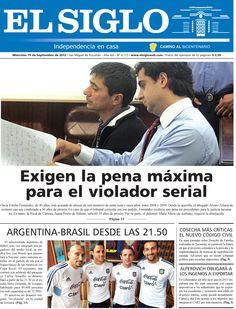 Diario El Siglo - Miércoles 19 de Septiembre de 20 12