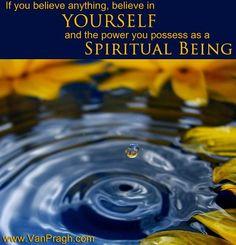 spiritual being...