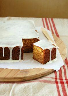 Marmalade cake / Bolo de geleia de laranja