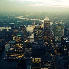 #london at #sunset this evening. #city #britain #england