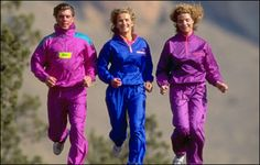 I need a Jogging Suit that makes a swishing noise between my legs so that everyone knows I'm coming! 1999 Fashion, 80s Fashion, Fashion Brand, Style Fashion, Running Suit, Running Gear, Shell Suit, 20th Century Fashion, Fitness Fashion