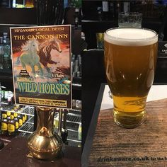 #theoldpottingshed brewery with a superb pint of #wildhorses at #thecanon in Ersdon. From High Spen. Very good indeed. #adventuresinale #northeastale