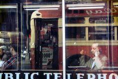 Saul Leiter: Phone Call, ca. 1957