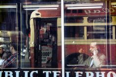 © SAUL LEITER: Phone Call, ca. 1957