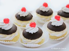 Mini Cupcakes, Cheesecake, Deserts, Cheesecakes, Postres, Dessert, Cherry Cheesecake Shooters, Plated Desserts, Desserts