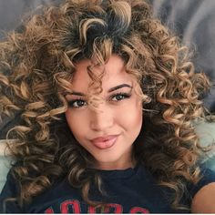 Expert Hair Care Tips For Any Age. Your hair might be your worst enemy, but it does not have to be! You can reclaim your hair with a little research and effort. First, identify your hair typ Big Curly Hair, Curly Hair Styles, Natural Hair Styles, Long Curly, Curly Wigs, Medium Curly, Deep Curly, Hair Medium, Kinky Hair