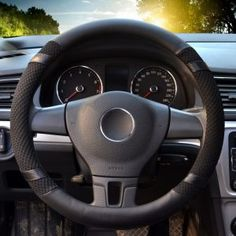 Best Leather Steering Wheel Covers Review (July, 2018) - A Complete Guide Wheel Cover