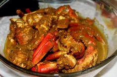 Guyanese Crab curry: recipe www.gotoguyana.org