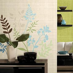 Multi Branches Wall Decals by #roommatesdecor.com